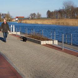 Plau am See - Promenade